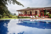 luxury accomodation with pool at Hacienda Venecia around Manizales, UNESCO World Heritage Coffee Triangle, Departmento Caldas, Colombia, Southamerica