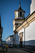 Iglesia San Jose church tower, Popayan, Departmento de Cauca, Colombia, Southamerica