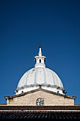white dome of cathedral of Popayan, Departmento de Cauca, Colombia, Southamerica