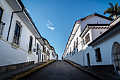 colonial white houses, Popayan, Departmento de Cauca, Colombia, Southamerica