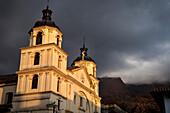 Iglesia de la Candelaria church, capital Bogota, Departmento Cundinamarca, Colombia, Southamerica