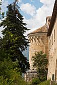 The church San Pietro ad Alba