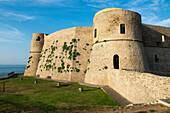 The castle of the port city of Ortona at the Adriatic Coast