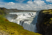 Gulfoss waterfall, Haukadalur, south part of Iceland