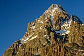 Monte Viso, Monviso, Valle di Po, Cottische Alpen, Piemont, Italien