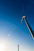 Wind Turbines, Hamburg, Germany
