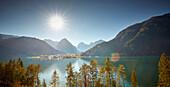 Pertisau am Achensee , Achnesee, Östliches Karwendelgebirge, Tirol, Österreich