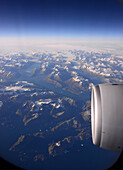 eastcoast from a plane, Greenland