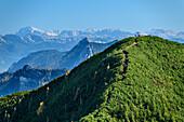 Gennerhorn mit Totem Gebirge, vom Gruberhorn, Salzkammergut, Salzburg, Österreich