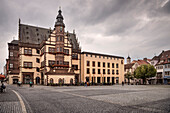 city hall, historic building at market place of Schweinfurt, Under Franconia, Bavaria, Germany