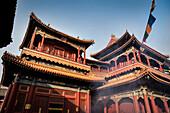 Yonghe Temple (aka Lama Temple), Beijing, China, Asia