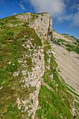 Felsabbrüche des Hohen Ifen, Hoher Ifen, Allgäuer Alpen, Walsertal, Vorarlberg, Österreich