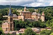 Jarnioux Castle Jarnioux Rhône Auvergne-Rhône-Alpes France.