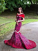 Miss Cultural Harvest Photogenic at Reservoir Park, Kuching, Sarawak, Malaysia