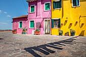 Burano lagoon island, Venice, Italy.
