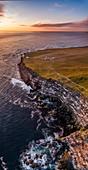 Latrabjarg cliffs, West Fjords, Iceland.