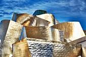 Guggenheim Museum, Bilbao, Biscay, Basque Country, Euskadi, Euskal Herria, Spain, Europe.