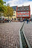 Rathaus Platz. Freiburg. Freiburg im Breisgau. Black Forest. Baden Wurttemberg. Germany