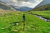 Valle de Añes Cruces, parque natural Posets-Maladeta, Huesca, cordillera de los Pirineos, Spain.
