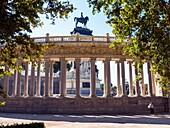 Monumento al rey Alfonso XII en el Parque de El Retiro. Madrid, Spain.