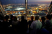 At the Top Sky, Burj Khalifa, View, Visitors, Level 148, 555 Meter, Dubai, UAE, United Arab Emirates