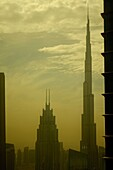 Ausblick, Burj Khalifa, Hochhäuser, Dubai, VAE, Vereinigte Arabische Emirate