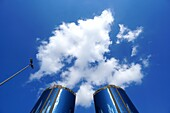 Cloud, Sky, Deira Twin Towers, Dubai, UAE, United Arab Emirates
