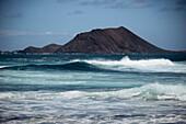 Montana La Caldera, Lobos,  La Oliva, Fuerteventura, Spain, Europe