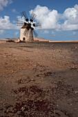 windmill, Tefia, Puerto del Rosario, Fuerteventura, Spain, Europe