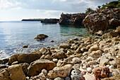 bay, Cala Morlanda, Manacor, Majorca, Spain, Europe