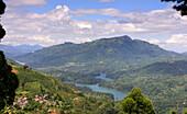 reservoir Kotmale in the mountains near Nuwara Eliya, Sri Lanka