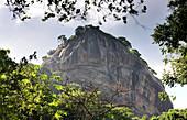 Blick auf den Sigiriya-Felsen, Sigiriya, Sri Lanka