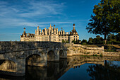 Chambord Castle, North Facade, UNESCO World Heritage Site, Chambord, Loire, Department Loire et Cher, Centre Region, France