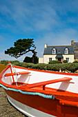 Haus am Meer, La Gouffre, Plougrescant, Côte de Granit Rose, Cotes d'Armor, Bretagne, Frankreich
