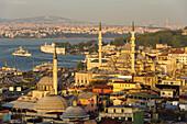 Süleymaniye-Mosque in Istanbul, Turkey