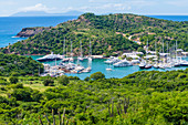 Nelson's Dockyard, English Harbour, Saint John´s, Antigua and Barbuda, Caribbean, Lesser Antilles