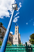 Clock Tower, Parliament Building, Bridgetown, Barbados, Caribbean, Lesser Antilles