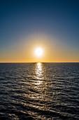 Sunset, Bridgetown, Barbados, Caribbean, Lesser Antilles