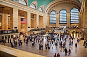 Interior view at Grand Central Station, Manhattan, NYC, New York City, United States of America, USA, Northern America