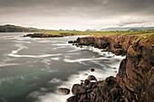 Coastline at Ferriter's Cove, Dingle Peninsula, Slea Head Drive, County Kerry, Ireland, Wild Atlantic Way, Europe