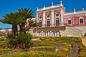 Palácio de Estói and garden, Pousada, Estói, District Faro, Region of Algarve, Portugal, Europe
