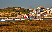 Nature reserve, Reserva Natural da Ría do Alvor, Alvor near Portimao, District Faro, Region of Algarve, Portugal, Europe