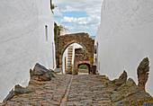 Village of Monsaraz, District Évora, Region of Alentejo, Portugal, Europe