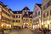 Old town of Meersburg on lake Constance, Baden, Baden-Wuerttemberg, South Germany, Germany, Central Europe, Europe