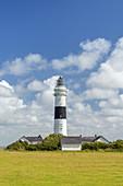 Leuchtturm Rote Kliff in Kampen, Insel Sylt, Nordfriesland, Schleswig-Holstein, Norddeutschland, Deutschland, Europa