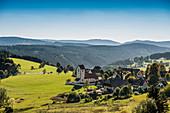 Saig, bei Lenzkirch, Schwarzwald, Baden-Württemberg, Deutschland