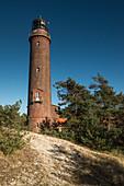 Lighthouse Darßer Ort, Weststrand, Fischland-Darß-Zingst, Mecklenburg-Vorpommern, Germany, Europe