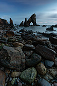 summer sunset at Crohy Head, country Donegal, Ulster province, north west Ireland, Ireland, Europe