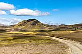 Entlang der unbefestigten Straße F208 in Richtung Landmannalaugar, Südliche Region, Island