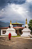 Sangchhen Dorji Lhuendrup Lhakhang Nunnery, Punakha, Bhutan, Himalayan Country, Himalayas, Asia, Asian.